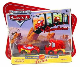 Disney CARS Mini Adventures Lightning McQueen's Team Lightning McQueen & Mater