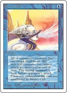 Magic the Gathering Unlimited Edition Single Card Uncommon Siren's Call
