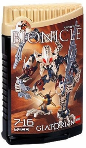 LEGO Bionicle GLATORIAN Figure #8983 Vorox [Tan]
