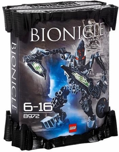 LEGO Bionicle AGORI Set #8972 Atakus [Black]