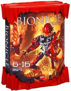 LEGO Bionicle AGORI Set #8973 Raanu [Red]