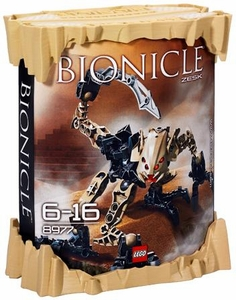 LEGO Bionicle AGORI Set #8977 Zesk [Tan]
