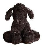 Lil'Kinz Mini Plush Black Poodle