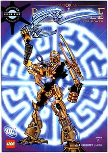 LEGO Bionicle Comic Book Glatorian Issue #5