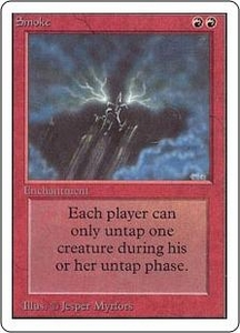 Magic the Gathering Unlimited Edition Single Card Rare Smoke
