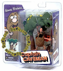McFarlane Toys Hanna Barbera Series 2 Action Figure Captain Caveman with Dinosaur