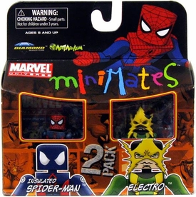 Marvel Minimates Series 30 Mini Figure 2-Pack Electro & Insulated Spidey