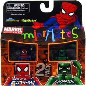 Marvel Minimates Series 30 Mini Figure 2-Pack House of M Spider-Man & Scorpion