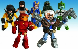 Marvel MiniMates Series 32 Set of 4 Mini Figure 2-Packs [Includes Variant Hank Pym Goliath]