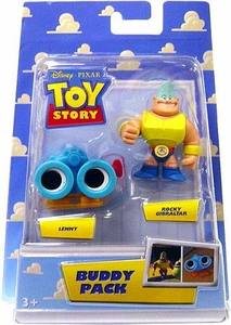 Disney / Pixar Toy Story Mini Figure Buddy 2-Pack Lenny & Rocky Gibraltar