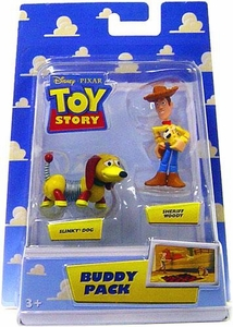 Disney / Pixar Toy Story Mini Figure Buddy 2-Pack Sheriff Woody & Slinky Dog