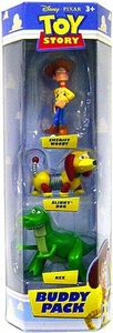Disney / Pixar Toy Story Mini Figure Buddy 3-Pack Sheriff Woody, Slinky Dog & Rex