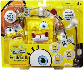 SpongeBob Squarepants Poseable Pal Playset Switch 'Em Up [Over 1000 Combos!]