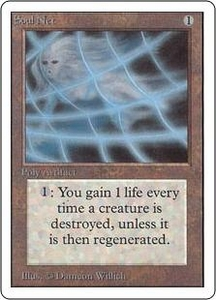 Magic the Gathering Unlimited Edition Single Card Uncommon Soul Net