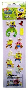SpongeBob Squarepants Cowboy Foam Sticker Pack