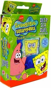 SpongeBob Squarepants Deep Sea Duel Aquatic Amigos Starter Deck