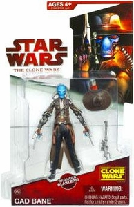 Star Wars 2009 Clone Wars Animated Action Figure CW No. 22 Cad Bane BLOWOUT SALE!