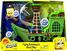 SpongeBob Squarepants Playset Flying Dutchman's Ghost Ship [Includes Mini Flying Dutchman Figure!]