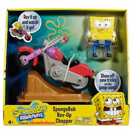 SpongeBob Squarepants Playset Rev-Up Chopper