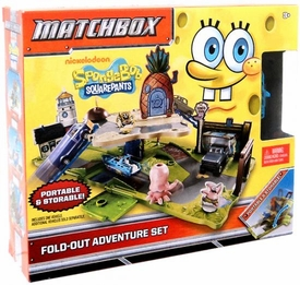 Matchbox SpongeBob Squarepants Fold-out Adventure Set