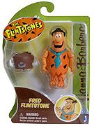 Hanna Barbera 3 Inch Figure Fred with Buffalo Hat [Flinstones]