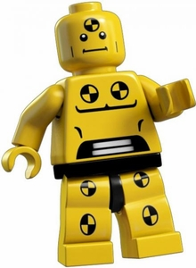LEGO Minifigure Collection Series 1 LOOSE Mini Figure Demolition Dummy