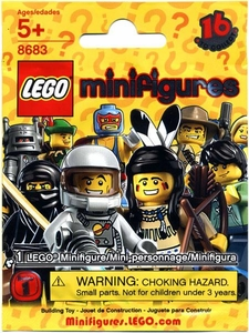 LEGO Minifigure Series 1 Mystery Pack [1 Random Mini Figure!]