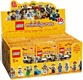 LEGO Minifigure Series 1 Mystery Box [60 Packs]