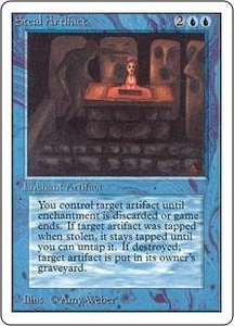 Magic the Gathering Unlimited Edition Single Card Uncommon Steal Artifact
