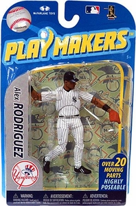 McFarlane Toys MLB Playmakers Series 2 Action Figure Alex Rodriguez (New York Yankees) [Fielding Version]