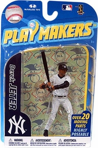McFarlane Toys MLB Playmakers Series 2 Action Figure Derek Jeter (New York Yankees) [Batting Version]