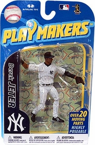 McFarlane Toys MLB Playmakers Series 2 Action Figure Derek Jeter (New York Yankees) [Fielding Version]