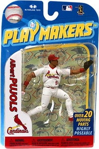 McFarlane Toys MLB Playmakers Series 2 Action Figure Albert Pujols (St. Louis Cardinals) [Fielding Version]
