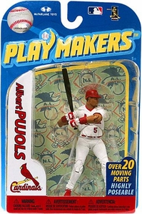 McFarlane Toys MLB Playmakers Series 2 Action Figure Albert Pujols (St. Louis Cardinals) [Batting Version]
