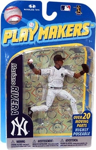McFarlane Toys MLB Playmakers Series 2 Action Figure Mariano Rivera (New York Yankees) All Time Saves Leader!