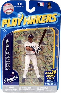 McFarlane Toys MLB Playmakers Series 2 Action Figure Andre Ethier (Los Angeles Dodgers) [Batting Version]