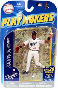 McFarlane Toys MLB Playmakers Series 2 Action Figure Andre Ethier (Los Angeles Dodgers) [Fielding Version]