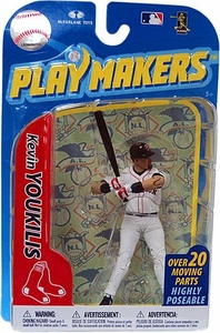 McFarlane Toys MLB Playmakers Series 2 Action Figure Kevin Youkilis (Boston Red Sox)