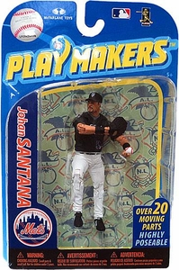 McFarlane Toys MLB Playmakers Series 2 Action Figure Johan Santana (New York Mets)