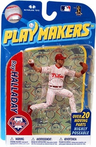 McFarlane Toys MLB Playmakers Series 2 Action Figure Roy Halladay (Philadelphia Phillies)
