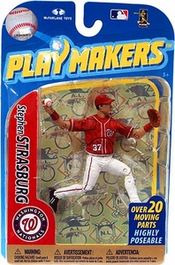 McFarlane Toys MLB Playmakers Series 2 Action Figure Stephen Strasburg (Washington Nationals)