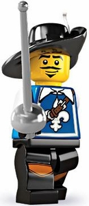 LEGO Minifigure Collection Series 4 LOOSE Mini Figure Musketeer