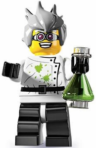 LEGO Minifigure Collection Series 4 LOOSE Mini Figure Crazy Mad Scientist