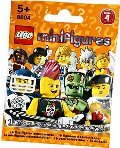 LEGO Minifigure Series 4 Mystery Pack [1 Random Mini Figure!]