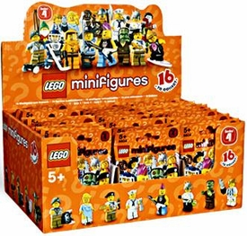 LEGO Minifigure Series 4 Mystery Box [60 Packs]