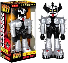 Funko KISS 11 Inch Vinyl Invader Figure Destroyer Demon Robot