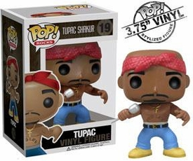 Funko POP! Rocks Vinyl Figure Tupac