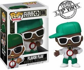 Funko POP! Rocks Vinyl Figure Flava Flav [Public Enemy]