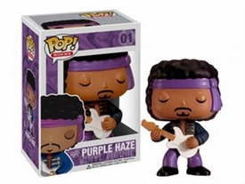 Funko POP! Rocks Vinyl Figure Jimi Hendrix [Purple Haze]