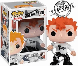 Funko POP! Rocks Sex Pistols Vinyl Figure Johnny Rotten